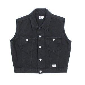VTG Calvin Klein 90's Sleeveless Denim Jacket Vest